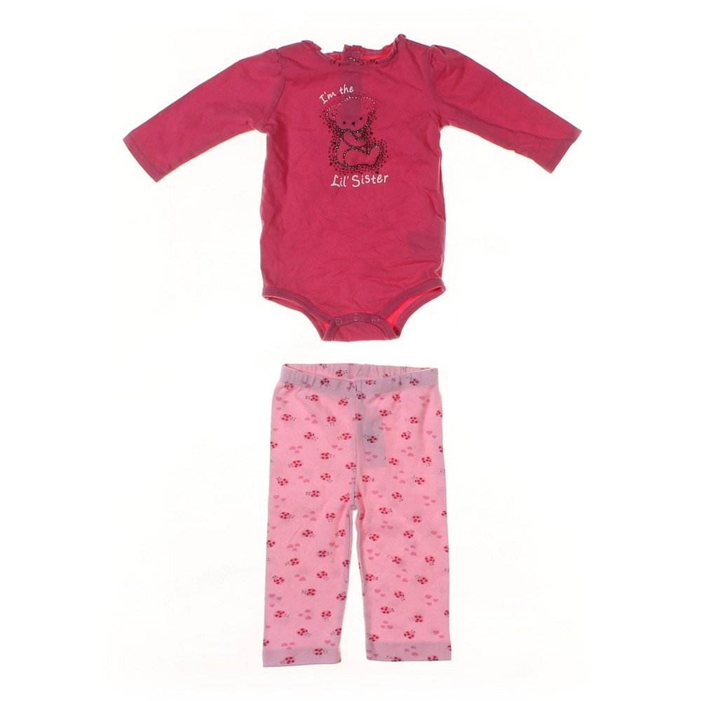 66e6b0d43dc05 Okie Dokie Bodysuit   Pants Set in size 3 mo at up to 95% Off