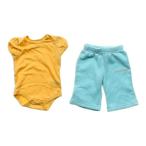 Wishes & Kisses Bodysuit & Pants Set in size 3 mo at up to 95% Off - Swap.com