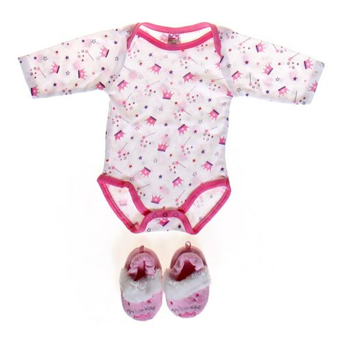 Coney Isle Bodysuit & Princess Slippers in size 6 mo at up to 95% Off - Swap.com