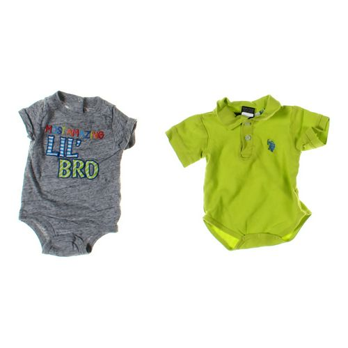 U.S. Polo Assn. Bodysuit Set in size 3 mo at up to 95% Off - Swap.com