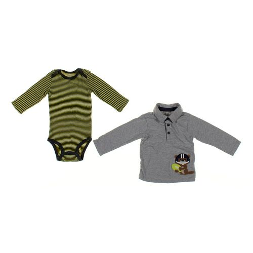 Just One You Bodysuit & Shirt Set in size 12 mo at up to 95% Off - Swap.com