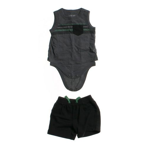 Cherokee Bodysuit & Shorts Set in size 3 mo at up to 95% Off - Swap.com