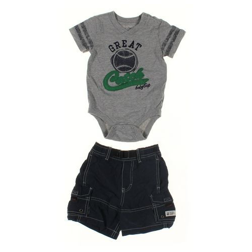 Gap Bodysuit & Shorts Set in size 12 mo at up to 95% Off - Swap.com