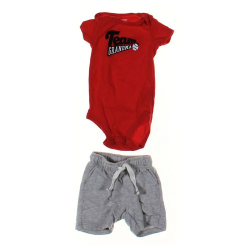 Just One You Bodysuit & Shorts Set in size 6 mo at up to 95% Off - Swap.com
