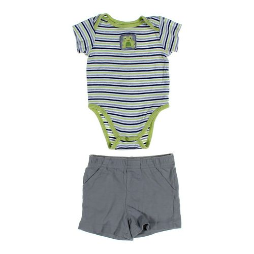 Small Wonders Bodysuit & Shorts Set in size 9 mo at up to 95% Off - Swap.com