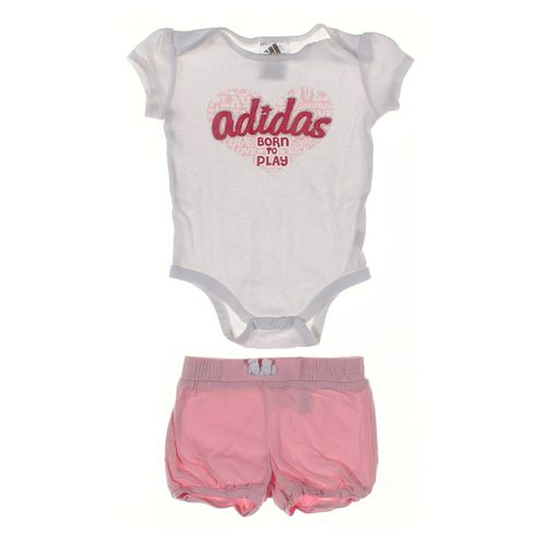 Adidas Bodysuit & Shorts Set in size 12 mo at up to 95% Off - Swap.com
