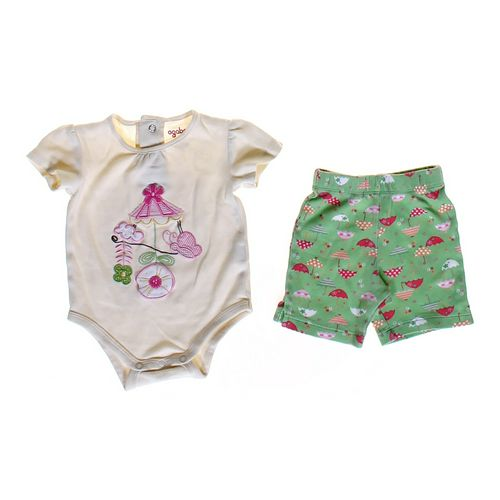 Agabang Bodysuit & Shorts Set in size 3 mo at up to 95% Off - Swap.com