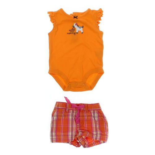 Carter's Bodysuit & Shorts Set in size 3 mo at up to 95% Off - Swap.com