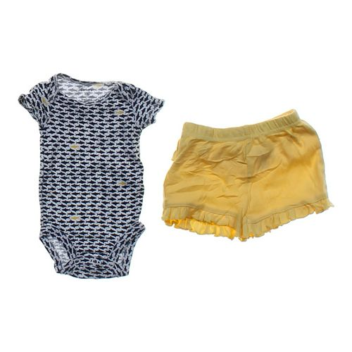 Carter's Bodysuit & Shorts Set in size NB at up to 95% Off - Swap.com