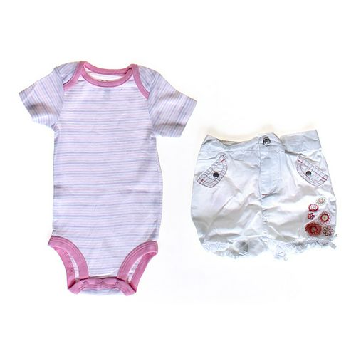 First Impressions Bodysuit & Shorts Set in size 3 mo at up to 95% Off - Swap.com
