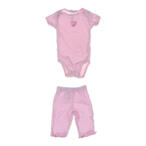 Gerber Bodysuit & Striped Pants in size NB at up to 95% Off - Swap.com
