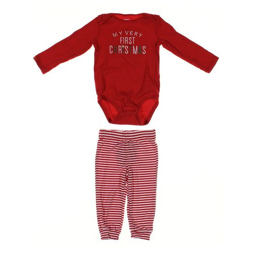 Carter's Bodysuit & Sweatpants Set in size 18 mo at up to 95% Off - Swap.com