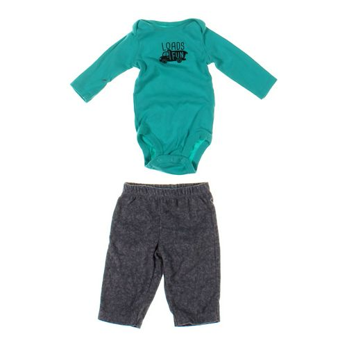 Just One You Bodysuit & Sweatpants Set in size 3 mo at up to 95% Off - Swap.com