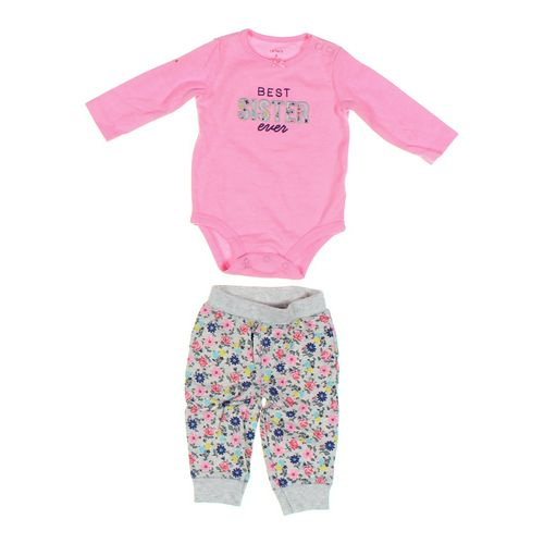 Carter's Bodysuit & Sweatpants Set in size 6 mo at up to 95% Off - Swap.com