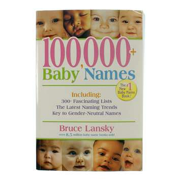 Book: 100,000+ Baby Names for Sale on Swap.com