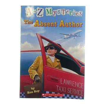 Book: A to Z Mysteries: The Absent Author for Sale on Swap.com