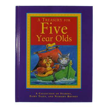 Book: A Treasury For Five Year Olds for Sale on Swap.com