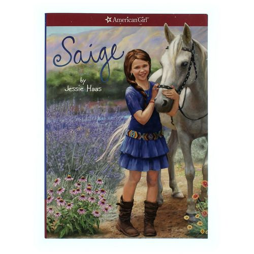 Book: American Girl Saige at up to 95% Off - Swap.com