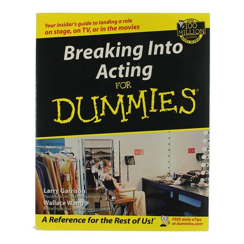 Book: Breaking Into Acting For Dummies at up to 95% Off - Swap.com
