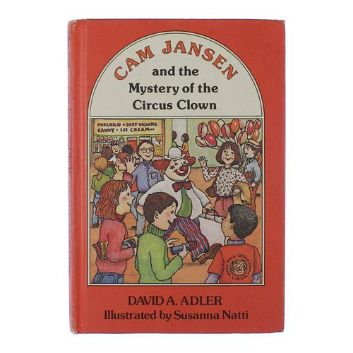 Book: Cam Jansen and the Mystery of the Circus Clown at up to 95% Off - Swap.com