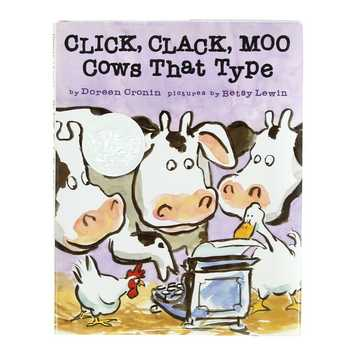 Book: Click, Clack, Moo for Sale on Swap.com