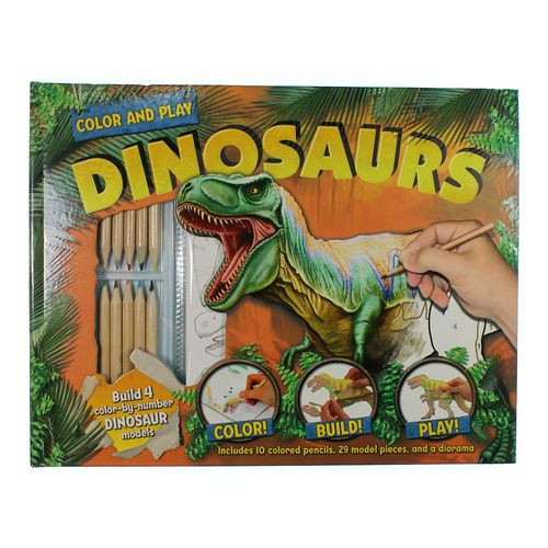 Book:  Color and Play Dinosaurs at up to 95% Off - Swap.com
