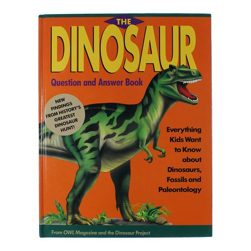 Book: Dinosaur Question & Answer Book at up to 95% Off - Swap.com