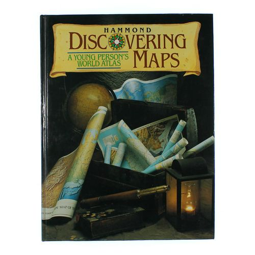 Book: Discovering Maps at up to 95% Off - Swap.com