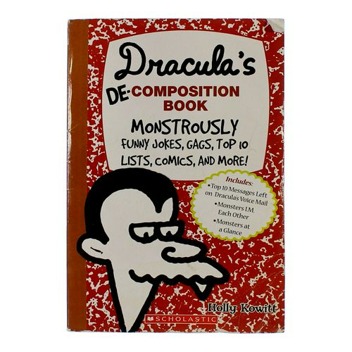 Book: Dracula's De-Composition Book at up to 95% Off - Swap.com