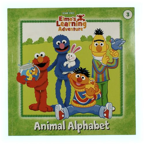 Book: Elmo's Learning Adventure : Animal Alphabet at up to 95% Off - Swap.com