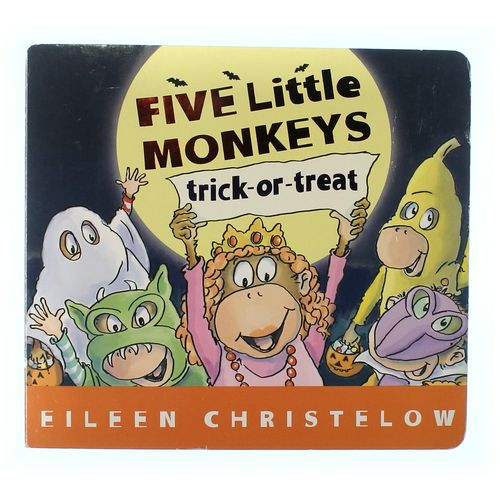 Book: Five Little Monkeys Trick-or-Treat at up to 95% Off - Swap.com
