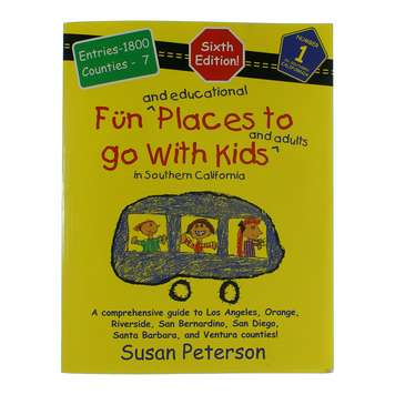 Book: Fun Places To Go With Kids for Sale on Swap.com