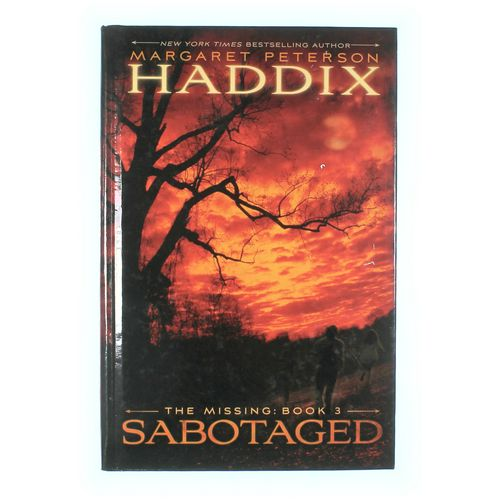 Book: Haddix; The Missing- Sabotaged at up to 95% Off - Swap.com