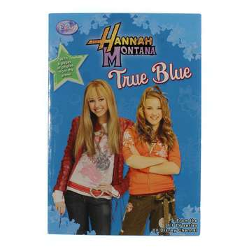 Book: Hannah Montana: True Blue for Sale on Swap.com