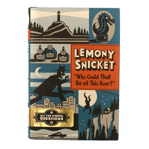 "Book: Lemony Snicket "" Who Could that be at this hour?"" at up to 95% Off - Swap.com"