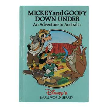Book: Mickey & Goofy Down Under for Sale on Swap.com