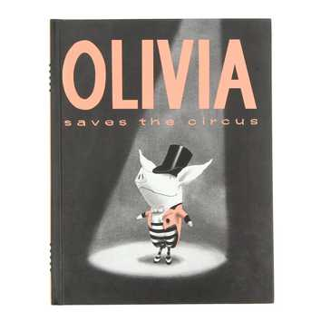 Book: Olivia Saves the Circus for Sale on Swap.com