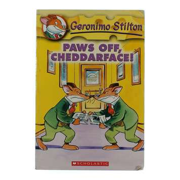 Book: Paws Off, Cheddarface! for Sale on Swap.com