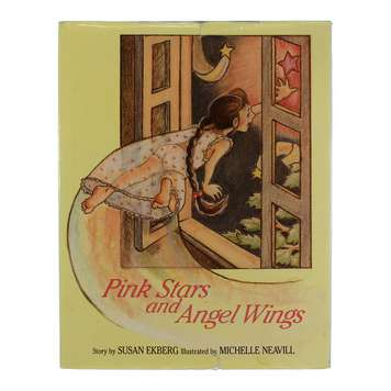 Book: Pink Stars and Angel Wings for Sale on Swap.com
