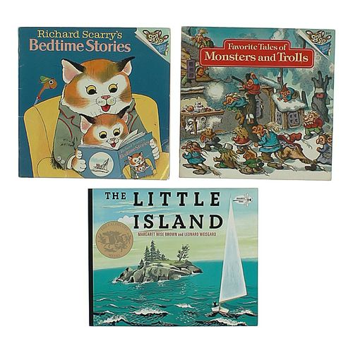 Book Set of Tales of Monsters and Trolls, a Little Island & Bedtime Stories at up to 95% Off - Swap.com