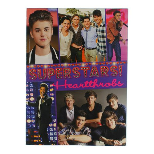 Book: Superstars Heartthrobs! at up to 95% Off - Swap.com