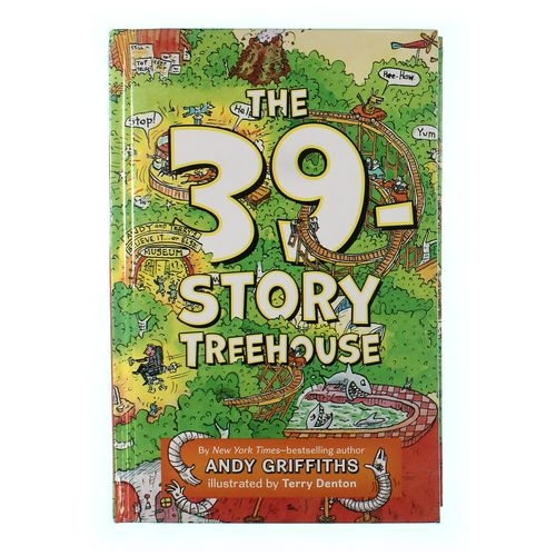 Book: The 39-Story Treehouse at up to 95% Off - Swap.com
