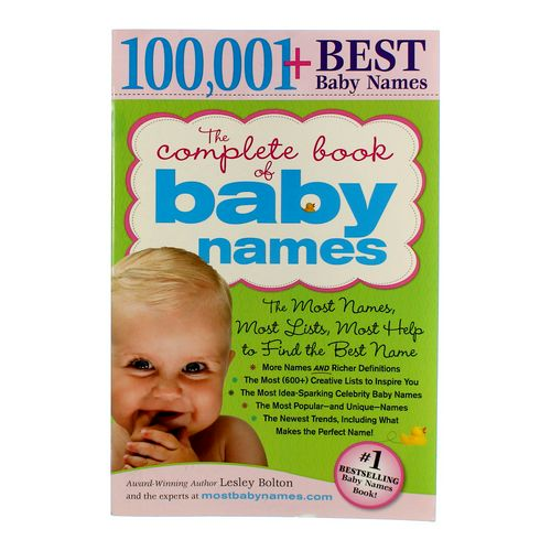 Book: The Complete Book Of Baby Names at up to 95% Off - Swap.com