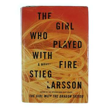 Book: The Girl Who Played With Fire for Sale on Swap.com