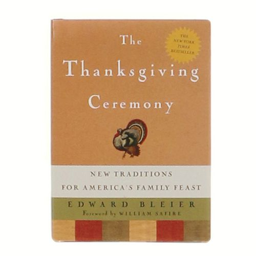 Book: The Thanksgiving Ceremony at up to 95% Off - Swap.com