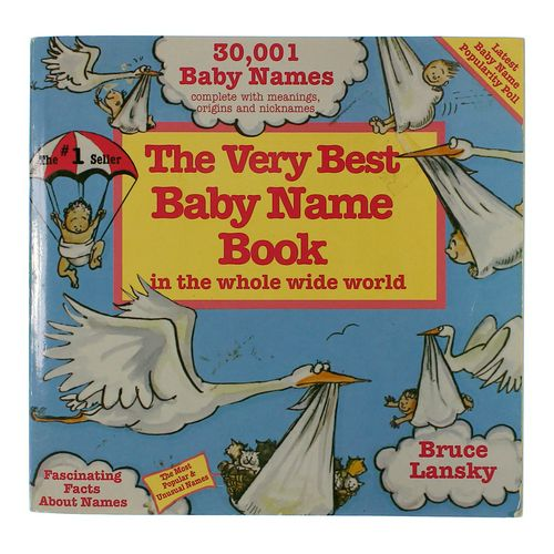 Book: The Very Best Baby Name Book at up to 95% Off - Swap.com