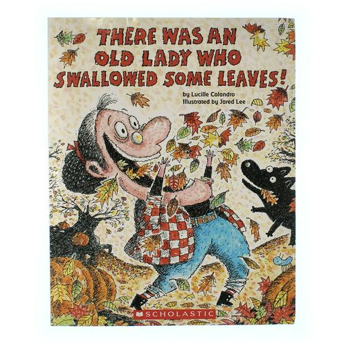 Book: There Was An Old Lady Who Swallowed Some Leaves! at up to 95% Off - Swap.com