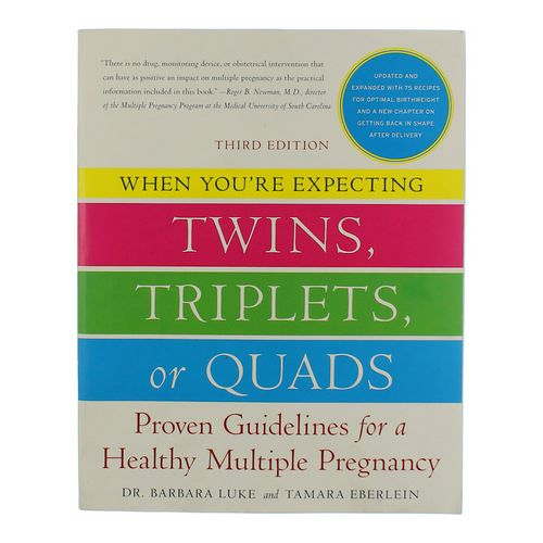Book: When You're Expecting Twin,Triplets or Quads at up to 95% Off - Swap.com