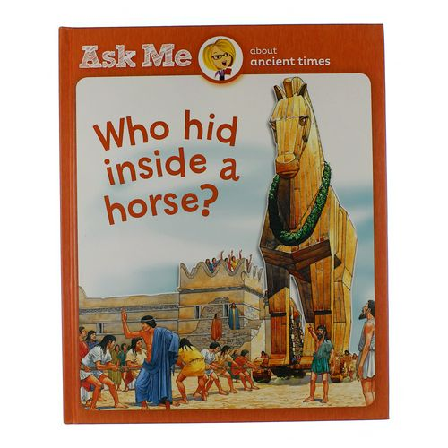 Book: Who Hid Inside A Horse? at up to 95% Off - Swap.com