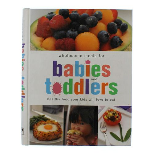 Book: Wholesome Meals For Babies & Toddlers at up to 95% Off - Swap.com